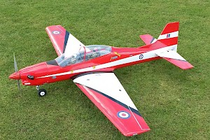 Ron Sivers Electric powered Tucano
